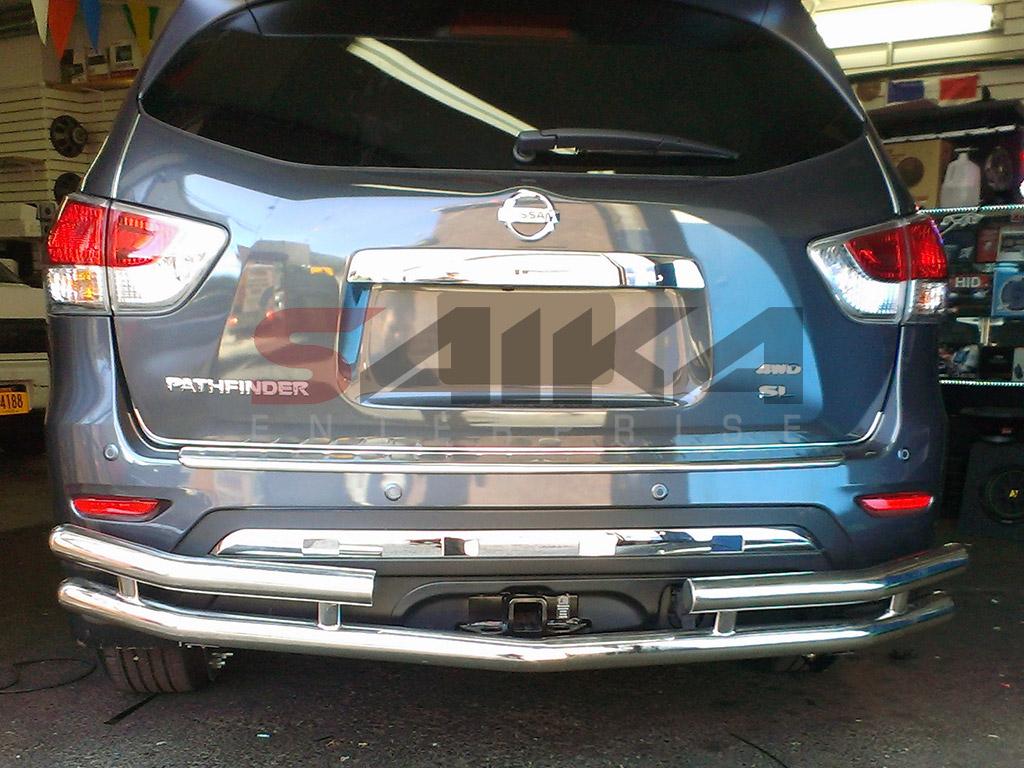 Saika Enterprise : <b>13-14 Nissan Pathfinder</b> Stainless Steel