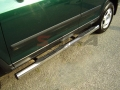 <b>02-06 Honda CRV</b> 3inch Round Stainless Steel Side Step Bars