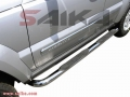 <b>02-07 Jeep Liberty</b> 3inch Round Stainless Steel Side Step Bars