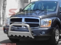 <b>04-10 Dodge Durango</b> 3inch Stainless Steel Bull bar w/ Skid Plate