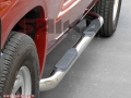 <b>04-10 Dodge Durango</b> 3inch Round Stainless Steel Side Step Bars