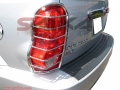 <b>04-10 Dodge Durango </b>Stainless Steel Tail Light Guards