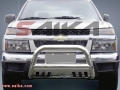 <b>04-13 GMC Canyon</b> 3inch Stainless Steel Bull Bar w/Skid Plate