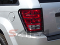 <b>05-10 Jeep Grand Cherokee</b> Black Tail Light Guards