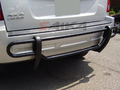 <b>05-10 Jeep Grand Cherokee</b> Black Double Tube Rear Bumper Guard