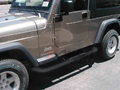 <b>87-05 Jeep Wrangler</b> 3inch Round Black Side Step Bars
