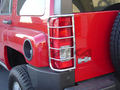 <b>06-10 Hummer H3 </b>Stainless Steel Tail Light Guards