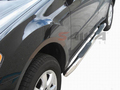 <b>06-11 Mercedes ML-Class (W164 Chassis)</b> 3inch Round Stainless Steel Side Step Bars