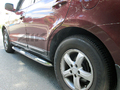 <b>07-12 Hyundai Santa Fe</b> 3inch Round Stainless Side Step Bars