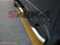 <b>07-12 Acura MDX</b> Stainless Steel 3inch Round Side Step Bars