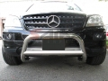 <b>06-11 Mercedes ML Class (W164 Chassis)</b> 2.5inch Stainless Steel Bull Bar (No Skid Plate)