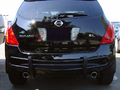<b>03-08 Nissan Murano</b> Black Double Tube Rear Bumper Guard