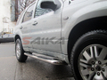 <b>08-12 Ford Escape</b> 3inch Round Stainless Steel Side Step Bars