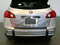 <b>08-13 Nissan Rogue</b> Stainless Steel Double Tube Rear Bumper Guard