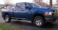 <b>09-14 Dodge RAM 1500 Quad Cab 1.5-Door</b> 3inch Round Stainless Steel Side Step Bars