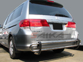 <b>99-14 Honda Odyssey</b> Stainless Steel Double Tube Rear Bumper Guard