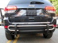 <b>11-14 Jeep Grand Cherokee</b> Stainless Steel Double Tube Rear Bumper Guard