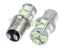 NX-1157-5-13 - 1157 5050 13 SMD LED Light Bulbs - Pair (4 Colors) By NAXOS