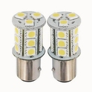 NX-1157-5-18 - 1157 5050 18 SMD LED Light Bulbs - Pair (4 Colors) By NAXOS