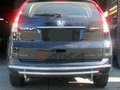 <b>12-14 Honda CRV</b> Stainless Steel Double Layer Rear Bumper Guard