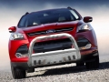 <b>13-14 Ford Escape</b> 3inch Stainless Steel Bull Bar w/Skid Plate