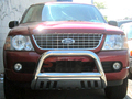 <b>02-05 Mercury Mountaineer</b> 3inch Stainless Steel Bull Bar w/Skid Plate