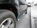 <b>09-15 Honda Pilot</b> 4inch Oval Stainless Steel Side Step Bars