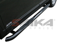 <b>99-04 Jeep Grand Cherokee </b>3inch Round Black Side Step Bars
