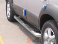<b>10-13 Hyundai Tucson</b> 3inch Round Stainless Steel Side Step Bars