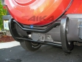 <b>06-10 Hummer H3</b> Black Double Tube Rear Bumper Guard