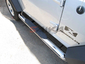 <b>87-05 Jeep Wrangler</b> 3inch Round Stainless Steel Side Step Bars