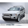 <b>08-10 Jeep Grand Cherokee</b> 3inch Stainless Steel Bull Bar w/Skid Plate