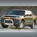 <b>02-06 Chevy Avalanche 2500</b> 3inch Black Bull Bar w/Skid Plate