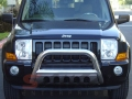 <b>05-10 Jeep Grand Cherokee</b> 3inch Stainless Steel Bull Bar w/Skid Plate