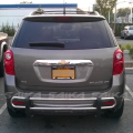 <b>10-14 Chevy Equinox</b> Stainless Steel Double Tube Rear Bumper Guard