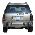 <b>02-06 Chevy Trailblazer</b> Stainless Steel Double Tube Rear Bumper Guard