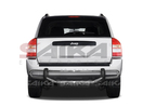 <b>07-14 Jeep Compass</b> Stainless Steel Double Tube Rear Bumper Guard