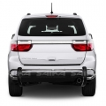 <b>11-14 Dodge Durango</b> Stainless Steel Double Tube Rear Bumper Guard