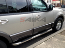 <b>07-12 Ford Expedition XL</b> 3inch Round Stainless Steel Side Step Bars
