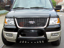 <b>02-05 Ford Explorer</b> 3inch Black Bull Bar w/Skid Plate