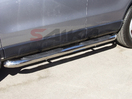 <b>06-10 Ford Explorer</b> 4 Doors 3inch Round Stainless Steel Side Step Bars