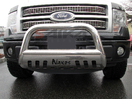 <b>04-08 Ford F150</b> 3inch Stainless Steel Bull Bar w/Skid Plate
