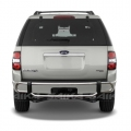 <b>02-05 Ford Explorer</b> Stainless Steel Double Tube Rear Bumper Guard