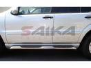 <b>07-12 Mercedes Gl320 GL350 GL450 GL500 GL550</b> (X164 Chassis) 3inch Round Stainless Steel Side Step Bars