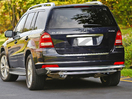 <b>07-12 Mercedes Gl320 GL350 GL450 GL500 GL550</b> (X164 Chassis) Stainless Steel Double Layer Rear Bumper Guard
