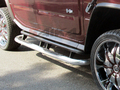 <b>03-11 Hummer H2</b> 3inch Round Stainless Steel Side Step Bars