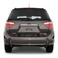 <b>07-14 Hyundai Veracruz</b> Stainless Steel Double Tube Rear Bumper Guard
