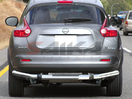 <b>11-14 Nissan Juke</b> Stainless Steel Single Tube Rear Bumper Guard