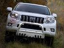 <b>08-13 Toyota Land Cruiser</b> 3inch Stainless Steel Bull Bar w/Skid Plate