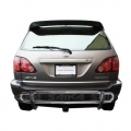 <b>98-09 Lexus RX300/RX330/RX350/RH400</b> Stainless Steel Double Tube Rear Bumper Guard